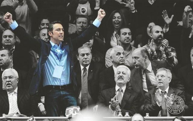 Fenerbahçe'de değişim..Ali Koç Başkan..