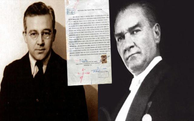 Atatürk'e yazılan mektup otaya çıktı