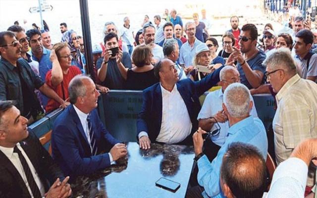 Muharrem İnce'ye İzmir'de şok tepki