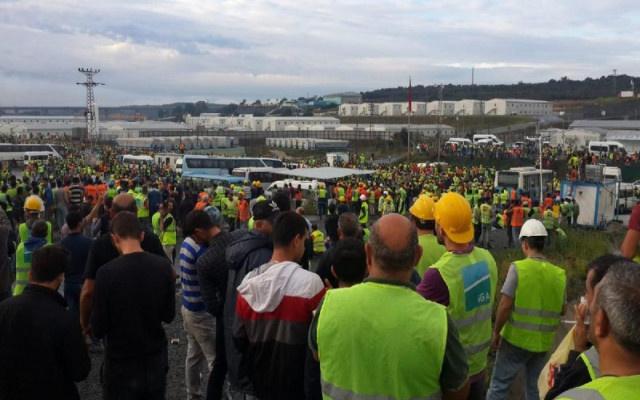 3'üncü Havalimanı'nda işçi isyanı!