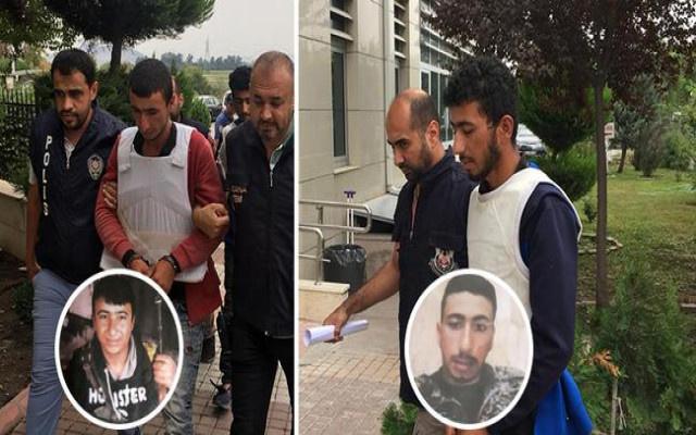 YPG'li  kardeşler tarlada yakalandı