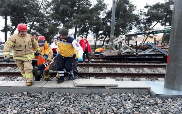 Florya'da tren kazası: Yaralılar var