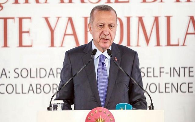 Erdoğan'dan Batı'ya sert sözler