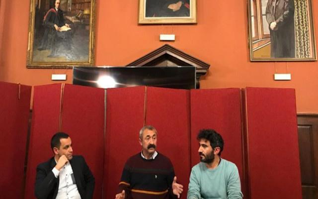 Komünist Başkan Maçoğlu'nun Oxford çıkarması