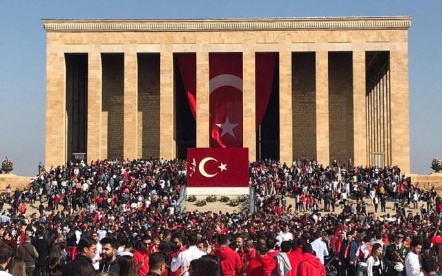 O İlçede Atatürk koşusuna engel