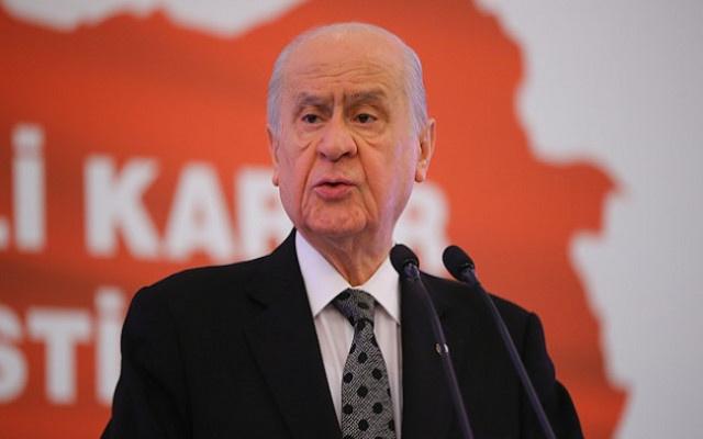 Devlet Bahçeli: İmamoğlu'ndan belediye başkanı olmaz