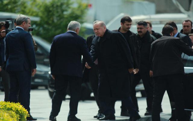 Erdoğan ve Binali Yıldırım arasında sürpriz buluşma