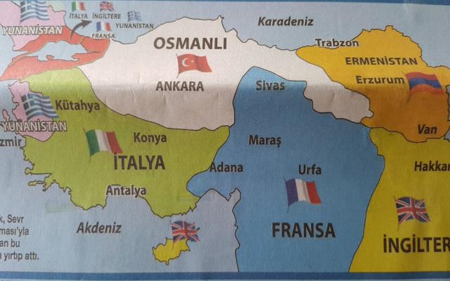 İYİ Partili Aytun Çıray o haritayı yayınladı