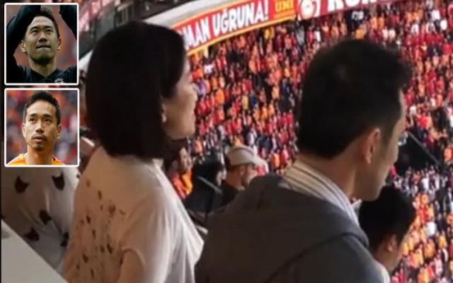 Beşiktaş Galatasaray derbisinde İstiklal Marşı okuyan Japon gazeteci gündem oldu