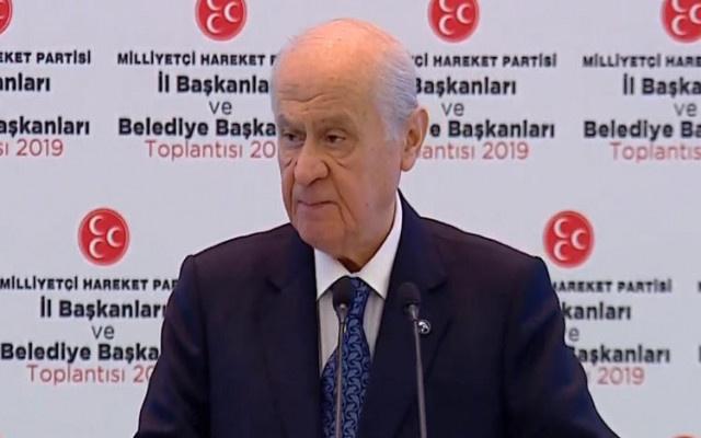 Bahçeli: Dünyanın gizli gündemi İstanbul seçimi..