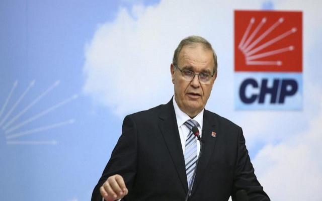 CHP Sözcüsü Öztrak : İktidar içindeki çatlamanın hızlanmasından korkuyor