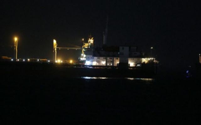 Zeytinburnu açıklarında iki gemi çarpıştı!