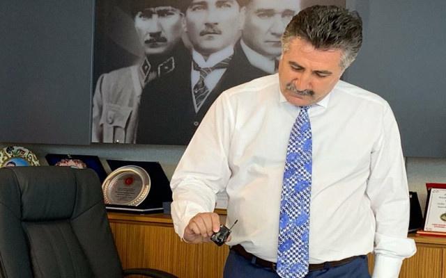 Belediye Başkanın odasında dinleme cihazı skandalı