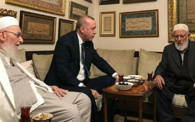 Erdoğan İsmailağa Cemaati'ni ziyaret etti