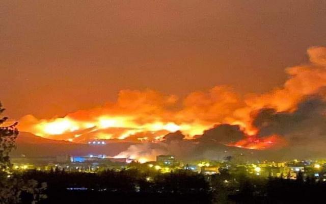 Hatay'daki yangınlarda sabotaj kuşkusu