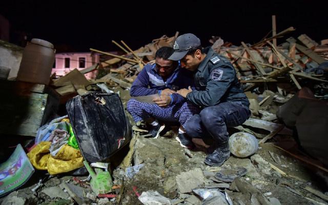 MSB Gence'deki vahşetin fotoğrafını paylaştı