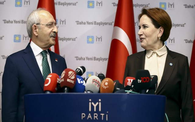 CHP ve İYİ Parti'nin oy oranları yükseliyor