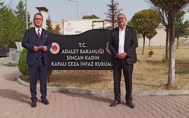 CHP'li vekillerden Müyesser Yıldız'a ziyaret