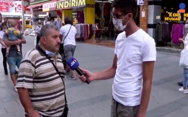 Sokak röportajında Erdoğan'ı eleştiren vatandaşa ikinci gözaltı