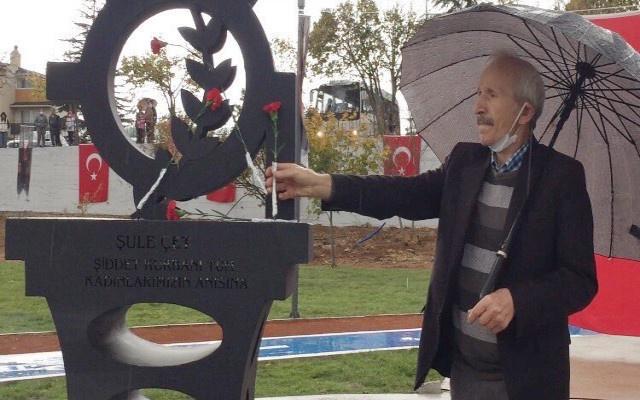 Öldürülen kadınlar anısına yaptırılan Şule Çet parkı açıldı