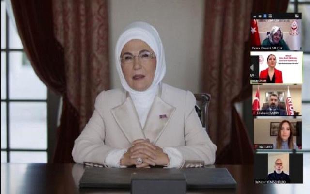 Emine Erdoğan'dan dikkat çeken Mafya çıkışı