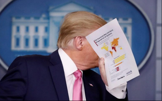 Trump'ın elindeki haritada Türkiye detayı!