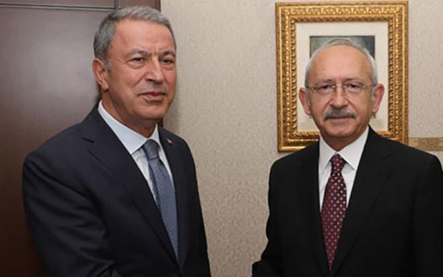 Hulusi Akar, Kılıçdaroğlu'nun telefonunu açmadı