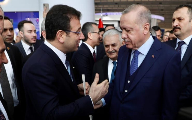 İmamoğlu'ndan Erdoğan'a DEVLET yanıtı