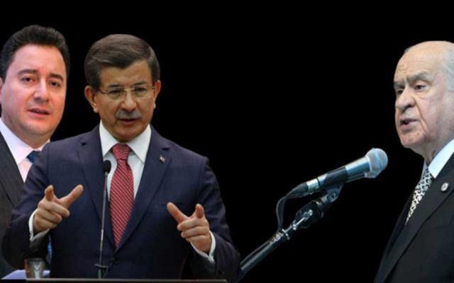 Babacan ve Davutoğlu'na MHP'den sürpriz teklif