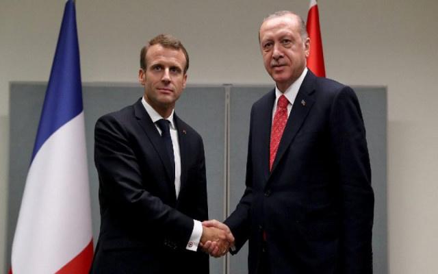 Erdoğan'dan Macron'a sert tepki: Kifayetsiz muhteris
