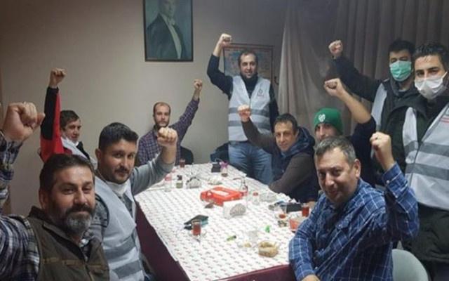 Gözaltından geç bırakılan işçilere sokağa çıkma yasağı cezası kesildi!
