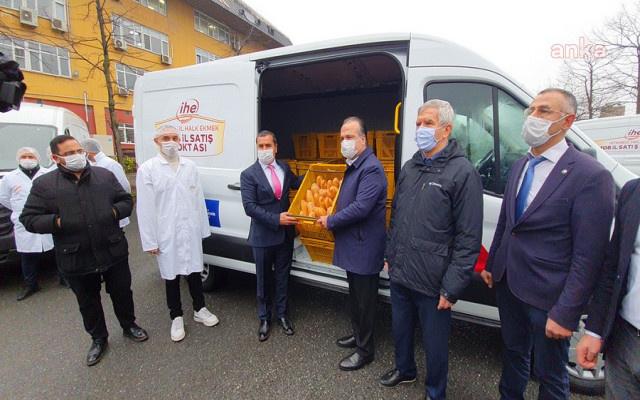 AKP'den yoksul bölgelere ekmek götürülmesine itiraz geldi