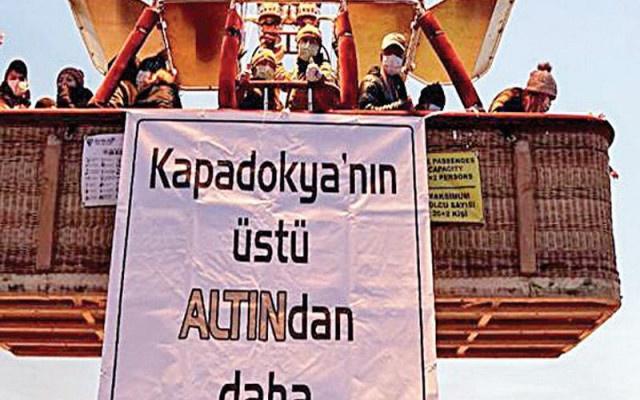 Kapadokya'da büyük tehlike...