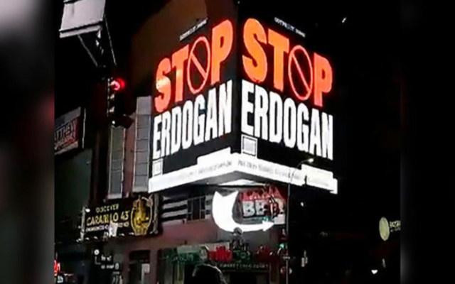 AKP'den Stop Erdoğan İlanına Sert Tepki