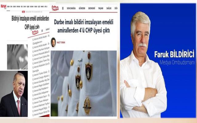 Bildirici: Talimat Erdoğan'dan,Liste Soylu'dan Servisi Sabah'tan...